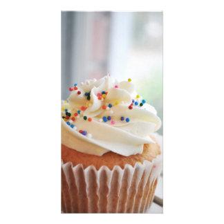 Vanilla Cupcake Photograph lll Photo Cards