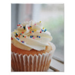 Vanilla Cupcake  Photograph lll Print