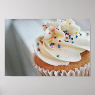 Vanilla Cupcake  Photograph llll Print