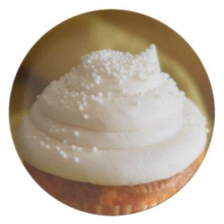 Vanilla Cupcake Plate