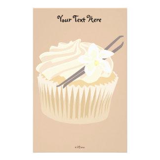 Vanilla Cupcake Stationery