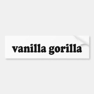 VANILLA GORILLA BUMPER STICKERS