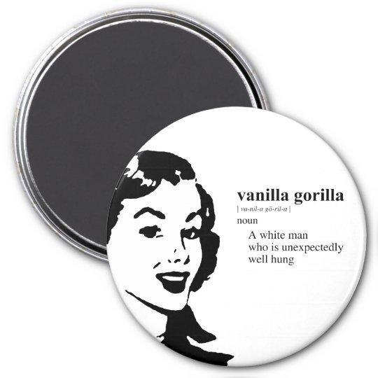 VANILLA GORILLA MAGNET