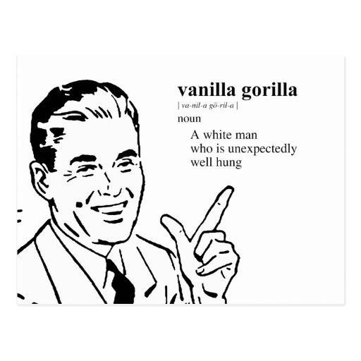VANILLA GORILLA POSTCARD