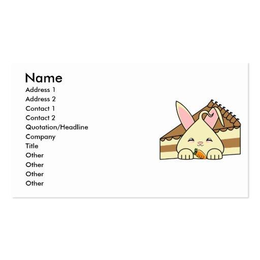 Vanilla Hopdrop And Cake Business Cards