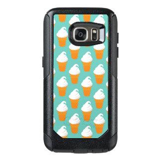 Vanilla Ice Cream Cone Pattern OtterBox Samsung Galaxy S7 Case