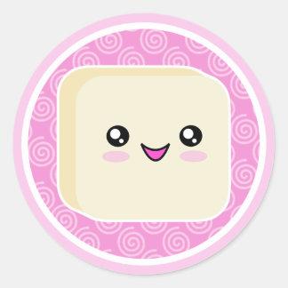 Vanilla Kawaii Mochi Stickers