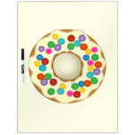 vanilla rainbow donut Dry-Erase boards