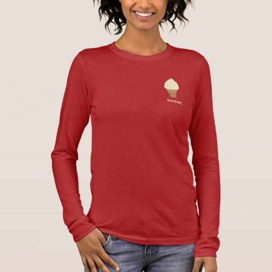 Vanilla Soft Serve Long Sleeve T-Shirt