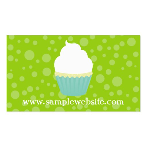 Vanilla Swirl Business Card