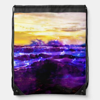 Vanilla Twilight Drawstring Backpack