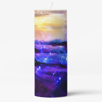 Vanilla Twilight Pillar Candle