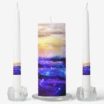 Vanilla Twilight Unity Candle Set