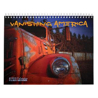 Vanishing America 2010 Calendar