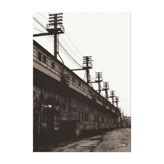 Vanishing American Industry Urban Industrial Print