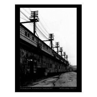 Vanishing American Industry Urban Industrial Print Postcard