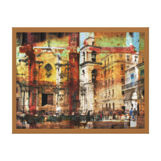 Vanishing Havana canvas art print Stretched Canvas Prints
