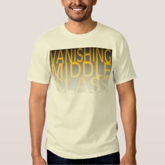 Vanishing Middle Class Tee Shirt