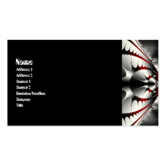 Vanishing Point Gothic Business Card