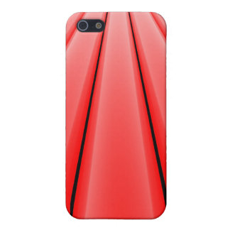 """Vanishing Point - Red"" iPhone SE/5/5s Cover"