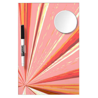 Vanishing Point Rose Dry Erase Board by Janz