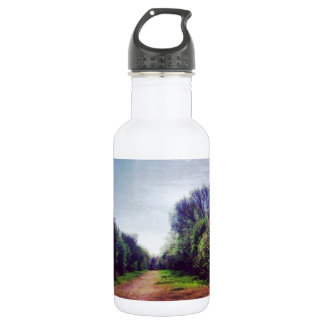 Vanishing point stainless steel water bottle