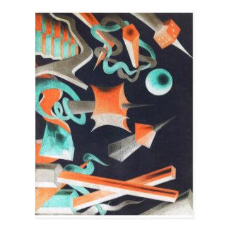 Vanishing Shapes I Postcard