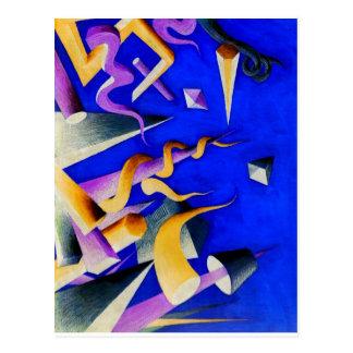 Vanishing Shapes II Postcard