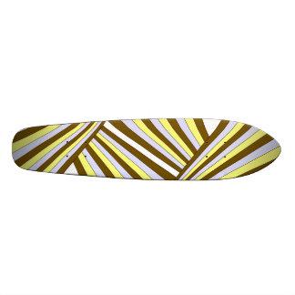Vanishing Stripes Skateboard Deck