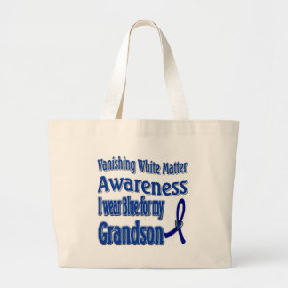 Vanishing White Matter Awareness Large Tote Bag