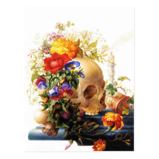 Vanitas Bouquet Postcard