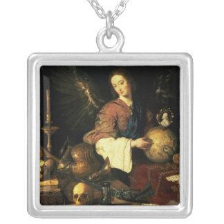 Vanitas, c.1634 colgante cuadrado