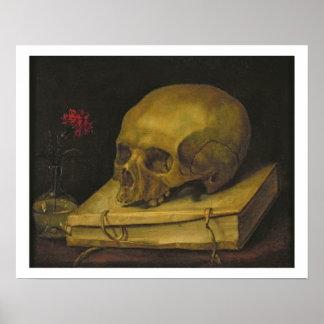 Vanitas, c.1644 (oil on canvas) poster