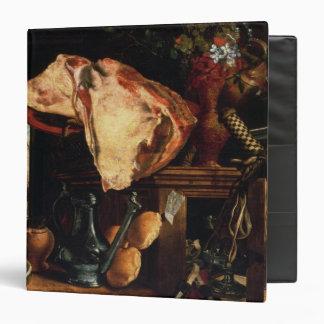 Vanitas still life , 1552 3 ring binder