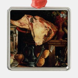 Vanitas still life , 1552 metal ornament