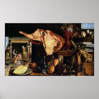 Vanitas still life , 1552 poster