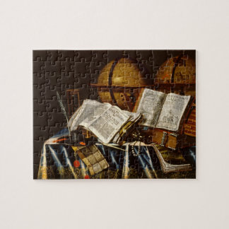 """Vanitas"" Still Life - Adam Bernaert (1665) Jigsaw Puzzle"