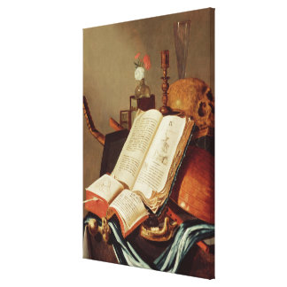 Vanitas Still Life Canvas Print