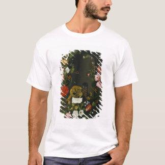 Vanitas Still Life with Flowers T-Shirt