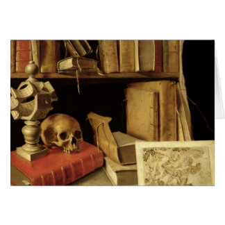 Vanitas with a Sundial, c.1626-40 Cards