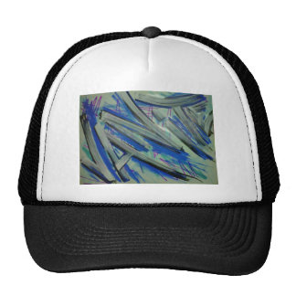 vanite abstract white blue.jpg trucker hat