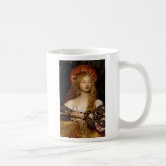 Vanity - A Medieval Maiden Coffee Mug