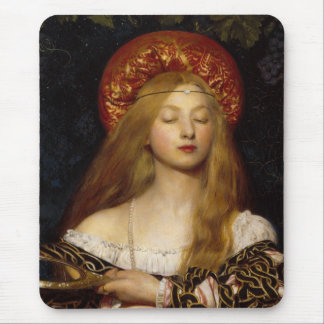 Vanity - A Medieval Maiden Mouse Pad