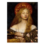 Vanity - A Medieval Maiden Postcard