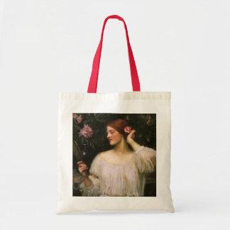 Vanity by JW Waterhouse Vintage Victorian Portrait Tote Bag