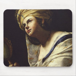 Vanity, c.1650-70 (oil on canvas) mouse pad