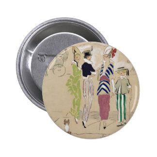 Vanity Fair 1914 Button