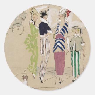 Vanity Fair 1914 Round Sticker