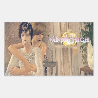 Vanity High Ben & Marie Sticker