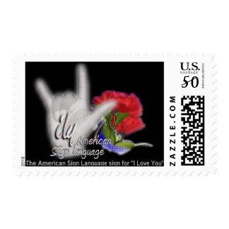Vanity ILY Stamp I
